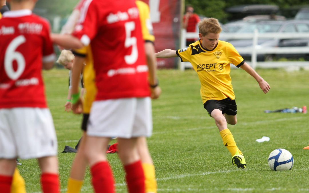 Fast-Paced Soccer Action
