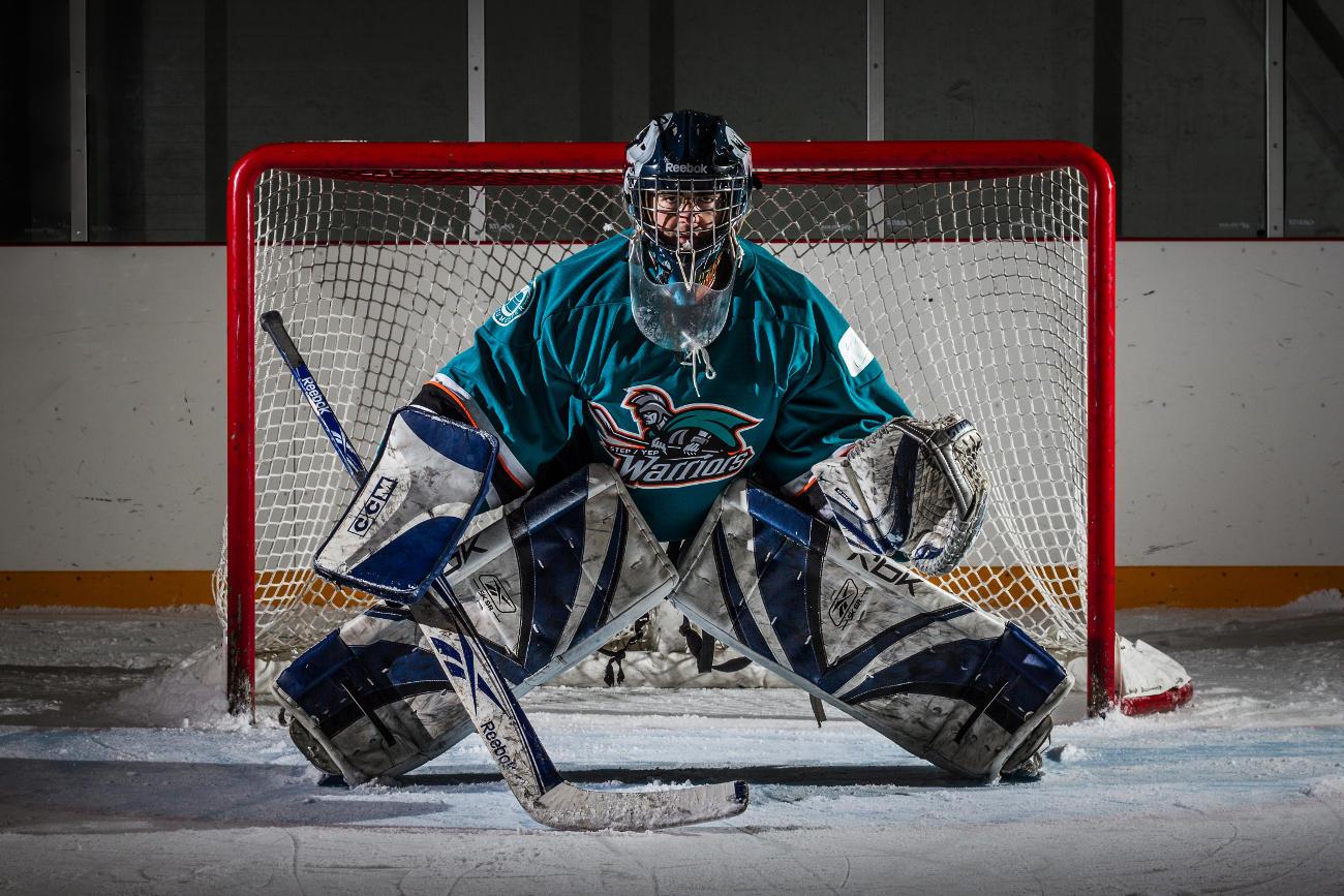 How to take a Dramatic Hockey Portrait