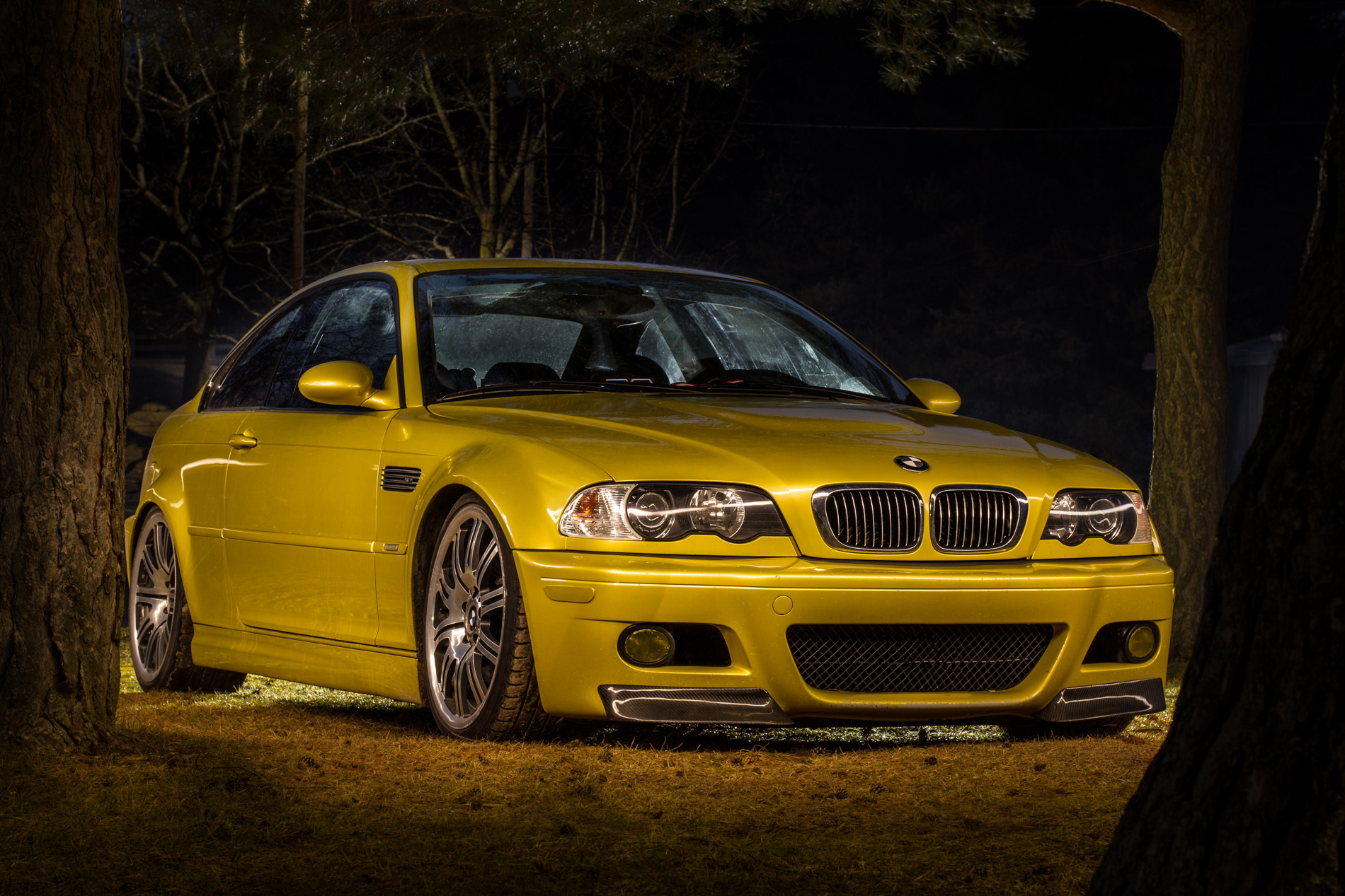 Light Painting a BMW