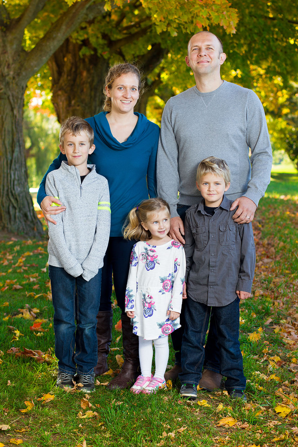 Family portraits in Hockley, taken by Frank Myrland Photography