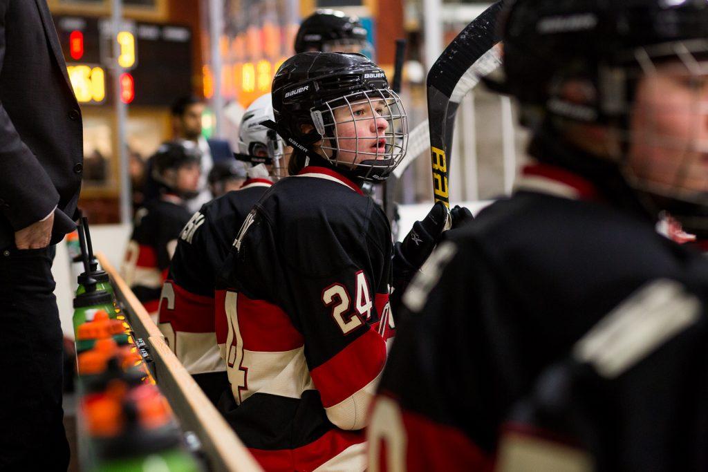 hockey-photographer-bench