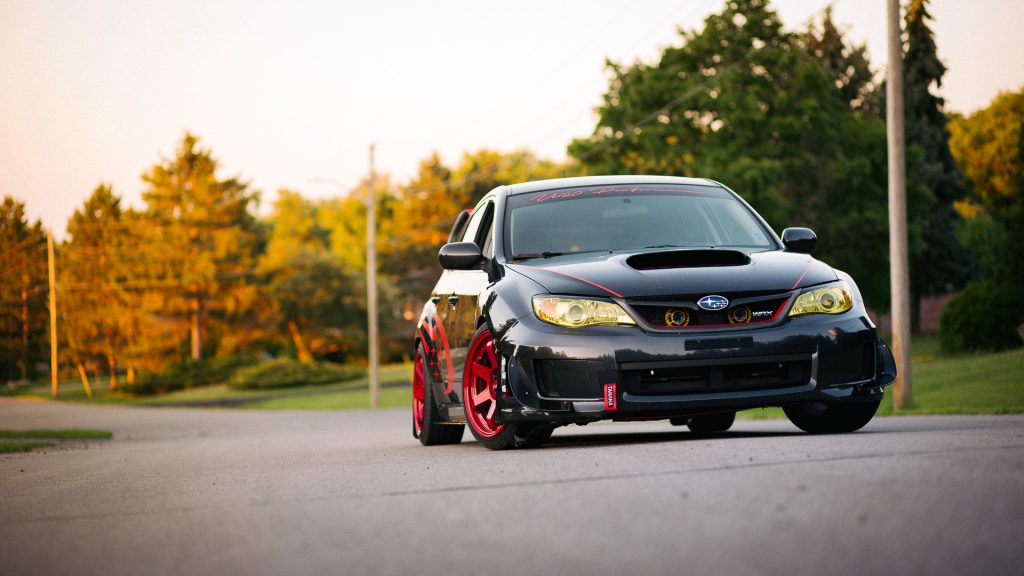 Orangeville Car Photographer, Subaru Impreza - photographed by Frank Myrland