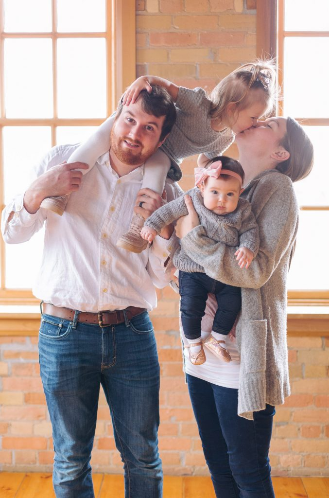 Family portrait photography at the Gibson Centre in Alliston by Frank Myrland Photography
